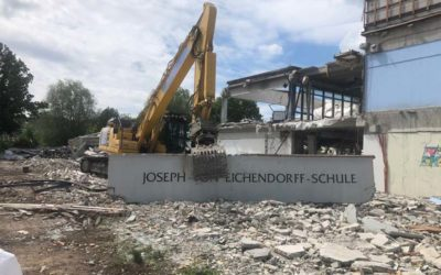 Abbruch Josepf von Eichdorff-Schule Kassel