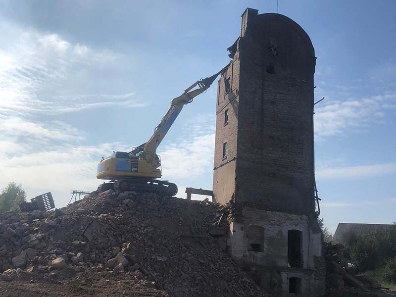 Abbrucharbeiten Kornhaus